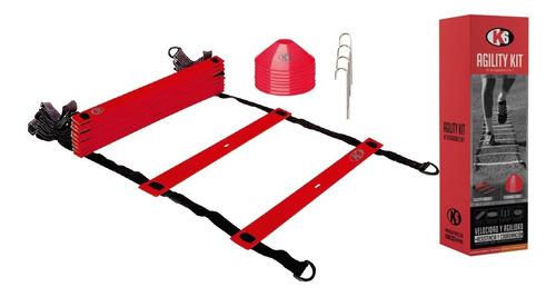 Kit De Entrenamiento Escalera De Agilidad Y Velocidad K6