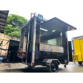 Remolque Chico Económico En Oferta Food Truck Comida Rápida