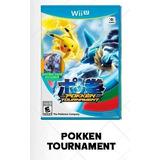 Pokken Tournament Wii U Juegos Digitales
