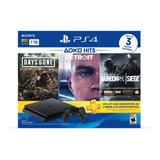 Playstation 4 Hits Bundle 3 Juegos + Joystick Nuevo
