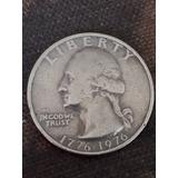 Monedas Del Bicentenario De 1776-1976, Un Cuarto De Dólar Am