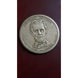 Moneda De 1 Dolar De Abraham Lincoln Colección Presidencial