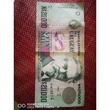 Billetes Viejos De Uruguay