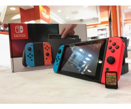 Nintendo Switch 3 Juegos Mas Estuche 2019 Nuevos