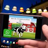 Invitacion En Video Fiesta La Vaca Lola Con Foto Androi