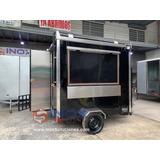 Económico Remolque Tipo Food Truck 8 Ft. Comida Rápida Hot D