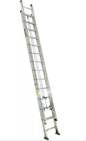 Escalera Extensión Aluminio 24 Pasos Industrial