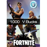 1000 V-bucks Fortnite  Recarga Directa
