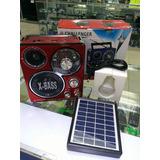 Reproductor Ch 178uls Panel Solar Radio Usb  12 X 11,70 C/u