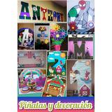 Piñatas Y Decoracion
