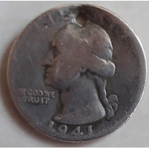 Quarter Dollar De 1941  Pura Plata