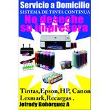 Instalación De Sistemas De Tinta Continua A Domicilio