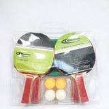 Set De Tenis De Mesa Con 4 Raquetas 4 Bolas Y 1 Malla Weston