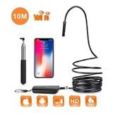 Endoscopio Wifi Ip67 Ajustables Para iPhone Y Android (32.8