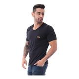 Camiseta Básica Unicolor Cuello Redondo Joem