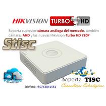 Dvr De 4 Canales Hikvision Turbo Hd / Ahd Stisc