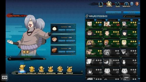 Se Vende Cuenta De Naruto Online Chetada