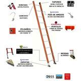 Escaleras Sencillas Fibra De Vidrio Industrial