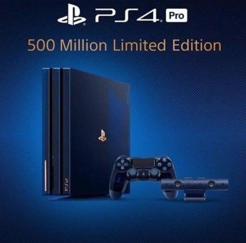 Ps4 Pro 2tb 500 Million Limited Edition Black Friday 2x1.