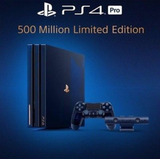 Ps4 Pro 2tb 500 Million Limited Edition Collectors Console