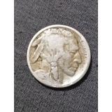Moneda Bufalo De 0.05 Centavos Del Año 1925
