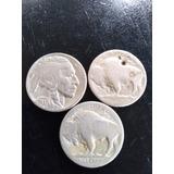 Vendo Monedas Búfalo 1937