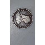 Moneda De 2 Medio Centesimos De Balboa De 1929