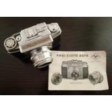 Cámara Vintage 35mm Agfa Ambisilette Solinar 1:2.8/50 1960