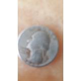 Vendo Una Moneda De 25 Centavos Americana Del Año 1965