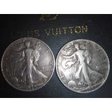 1/2 Dollar Americano Del Año 42 Y 44