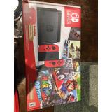 Nintendo Switch Mario Odyssey Nuevo -  507 63053358