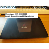 Laptop Rog G751jt 17.3  Hd (250gb Ssd/1tb Hdd Intel I7 4720