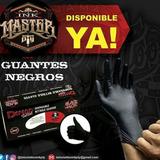 Guantes De Nitrilo Negros.