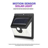 Luz Led Solar Con Sensor De Movimiento ( Entrega Inmediata)