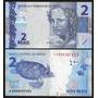 Vendo Combo De Billete Y Monedas De Brasil