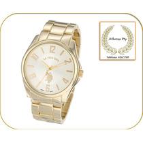Elegante Reloj Polo Gold Dorado. Variedad De Modelos